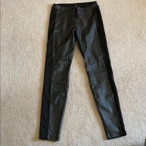 Leather Style Pants